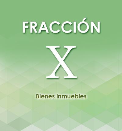ART. 126 – FRACCIÓN X
