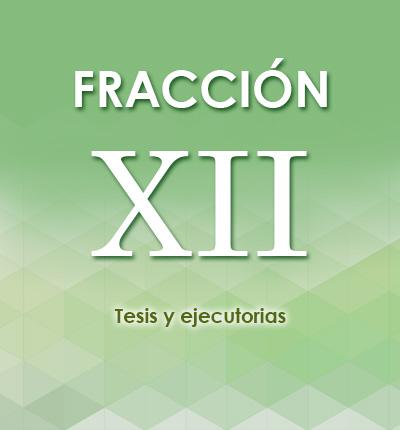 ART. 126 – FRACCIÓN XII