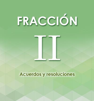 ART. 126 – FRACCIÓN II