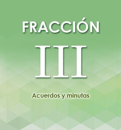 ART. 126 – FRACCIÓN III