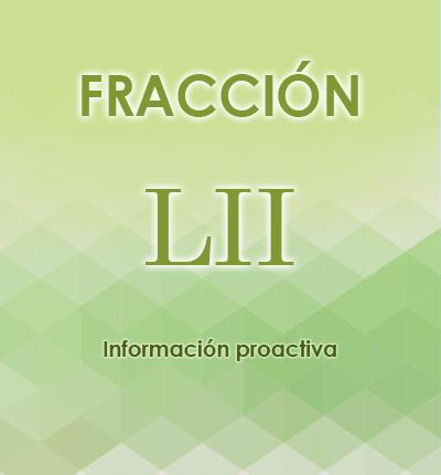 ART. 121- Fracción LII