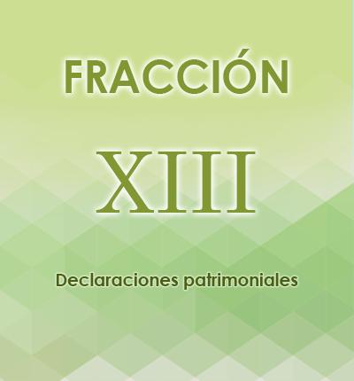 ART. 121- Fracción XIII