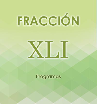 ART. 121- Fracción XLI
