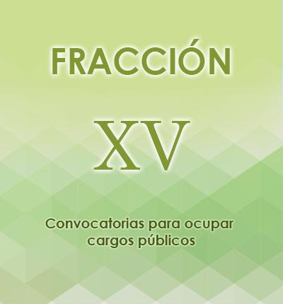 ART. 121- Fracción XV