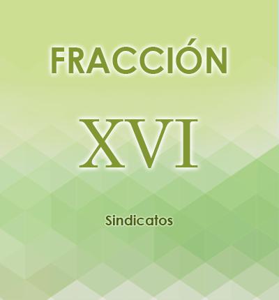 ART. 121- Fracción XVI