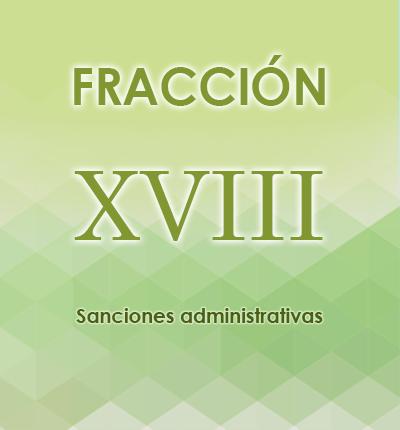 ART. 121- Fracción XVIII
