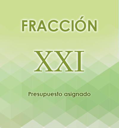 ART. 121- Fracción XXI