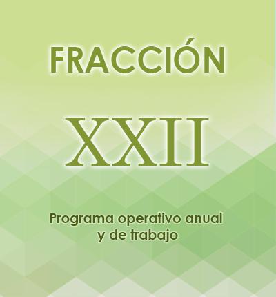 ART. 121- Fracción XXII