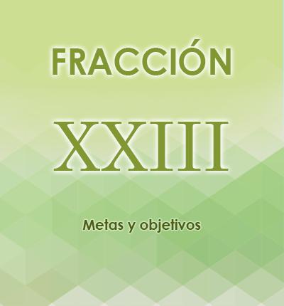 ART. 121- Fracción XXIII
