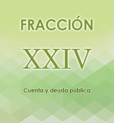 ART. 121- Fracción XXIV