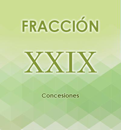 ART. 121- Fracción XXIX
