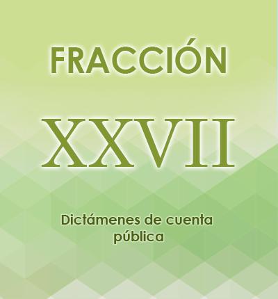 ART. 121- Fracción XXVII