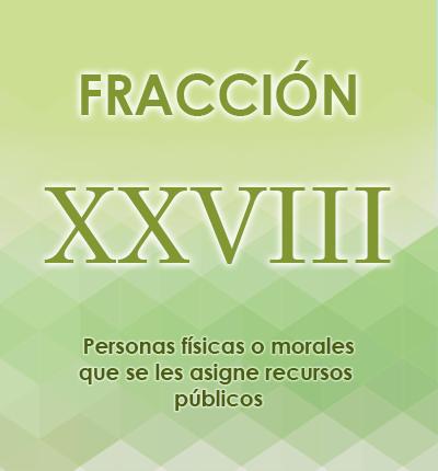 ART. 121- Fracción XXVIII
