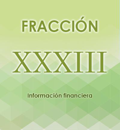 ART. 121- Fracción XXXIII