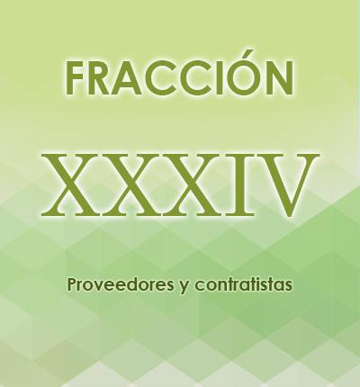 ART. 121- Fracción XXXIV